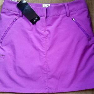 Adidas Purple ClimaCool Golf Skort sz 8